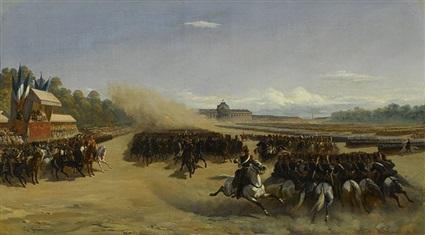 رسمة فرنسية للجيش