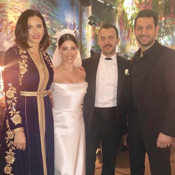 زفاف هازال كايا نجمة العشق