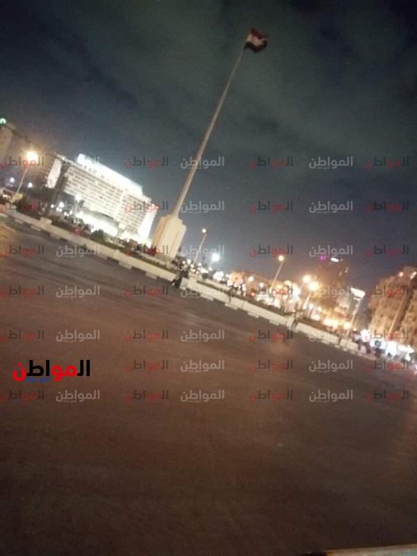 صور| «امسك إشاعة» مظاهرات في ميدان التحرير بسبب حادث رمسيس